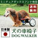 【お買い物マラソンクーポン配布中】ミニチュアダックス用車椅子 軽量 折り畳み 犬用車椅子 犬用補助輪 ペット用車イ…