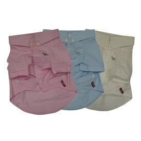 ボタンダウンシャツ2(Yシャツ)/ブルー【犬の洋服 犬服 犬 の 洋服 フレンチブルドッグ服 パグ服 向け 犬 服 】【メール便OK】