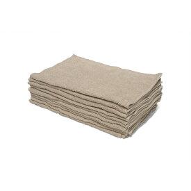 タオル 業務用 200匁 業務用 フェイスタオル 10枚セット ベージュ 34x85cm タオル 業務用フェイスタオル 美容院 サロン まとめ買いで 送料無料 ショートパイル 薄い タオル 薄手