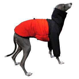 フィールド ダウンコート 【 犬 服 イタグレ服 イタリアングレーハウンド イタリアングレイハウンド コート ダウン 中綿 服 】