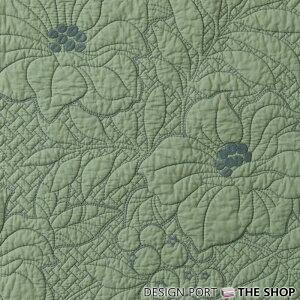 【キルトシート】【川島織物セルコン】フラワーリーフキルト約52×52cm【川島織物セルコン】LN1380