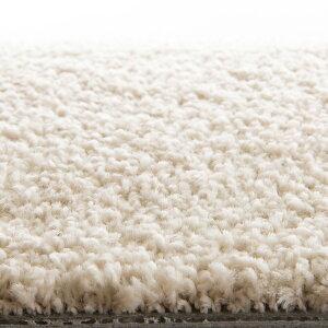 川島織物セルコンタイルカーペット(ユニットラグ)ソフティライン・プレーン(6枚入)アイボリー