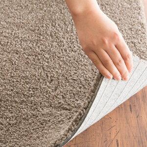 川島織物セルコンタイルカーペット(ユニットラグ)ソフティライン・プレーン(6枚入)ブラウン【送料無料】