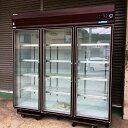 【中古】【厨房機器】【2010年製】★大和冷機 冷蔵ショーケース 611YKP-EC 幅1800×奥650×高1,905mm★・店舗用品・有…