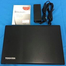 【中古】【ノートパソコン】【送料無料】★東芝 dynabook Satellite B553/L ★【Windows7】【Microsoft Office Personal2007】【Core i3-3110M 2.40GHz】【無線LAN内蔵】・中古パソコン・メモリ:4GB・HDD:320GB・DVDマルチドライブ・再セットアップ済み