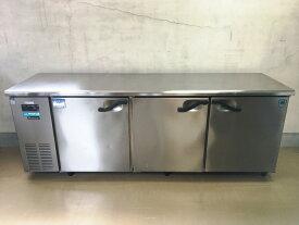 【中古】【厨房機器】【2010年製】★大和冷機 コールドテーブル冷蔵庫 7061CD-NP-EC★・店舗用品・業務用冷蔵庫・有効内容積498L・インバータ・単相100V