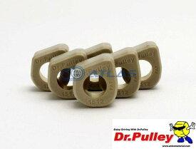 【LINE友だちクーポン発行中】Dr.Pulley(ドクタープーリー)スライディングウェイトローラー φ15×12 (3.0g) 6個セット