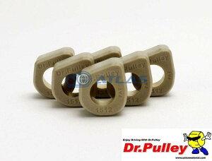【LINE友だちクーポン発行中】メール便対応可 Dr.Pulley(ドクタープーリー)スライディングウェイトローラー φ15×12 (9.5g) 6個セット