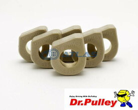 【LINE友だちクーポン発行中】Dr.Pulley(ドクタープーリー)スライディングウェイトローラー φ20×12 (16.5g) 6個セット