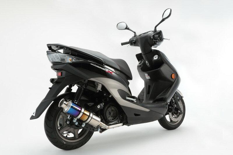 【BEAMS】【シグナス X】【マフラー】B220-09-000 CYGNUS Fi SE44J /国内モデル SS300チタン ビームス