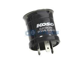 KOSO 汎用LED ウィンカーリレーII(フラッシャーリレー) 3芯、2芯 併用タイプ DA DA版(打音タイプ) シグナスX等に