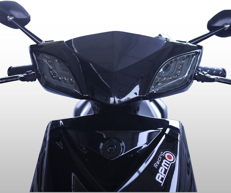 HID ART シグナスX(3RD CYGNUS X) (2013年式以降/1YP) (台湾仕様2012年式以降/1MS) ラインLED デイライト フラッシャー(ウィンカー)セット ライトスモーク