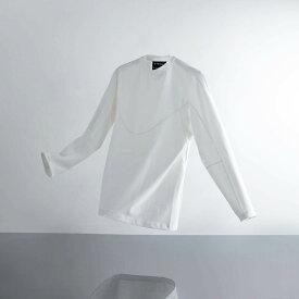 A-GIRLS ATMOS Pinnacle Long Sleeve Line Tee(エイガールズ アトモス ピナクル ロングスリーブ ティーシャツ)(WHITE)19SS-S