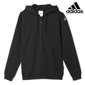设备 FULLZIP 帽衫阿迪达斯 (阿迪达斯全邮编帽衫) (黑色) 16 FW-我