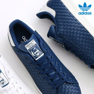 Adidas Originals STAN SMITH (Mystery Blue/Mystery Blue/Running White) (아디다스 스탠 스미스 オリジナルス) 17SS-I