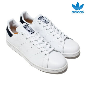 Adidas Originals STAN SMITH (아디다스 스탠 스미스 オリジナルス) (Running White/Running White/College Navy) 16FW-I