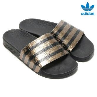 adidas Originals ADILETTE W (adidas originals adiliette) Core Black 16SS-I