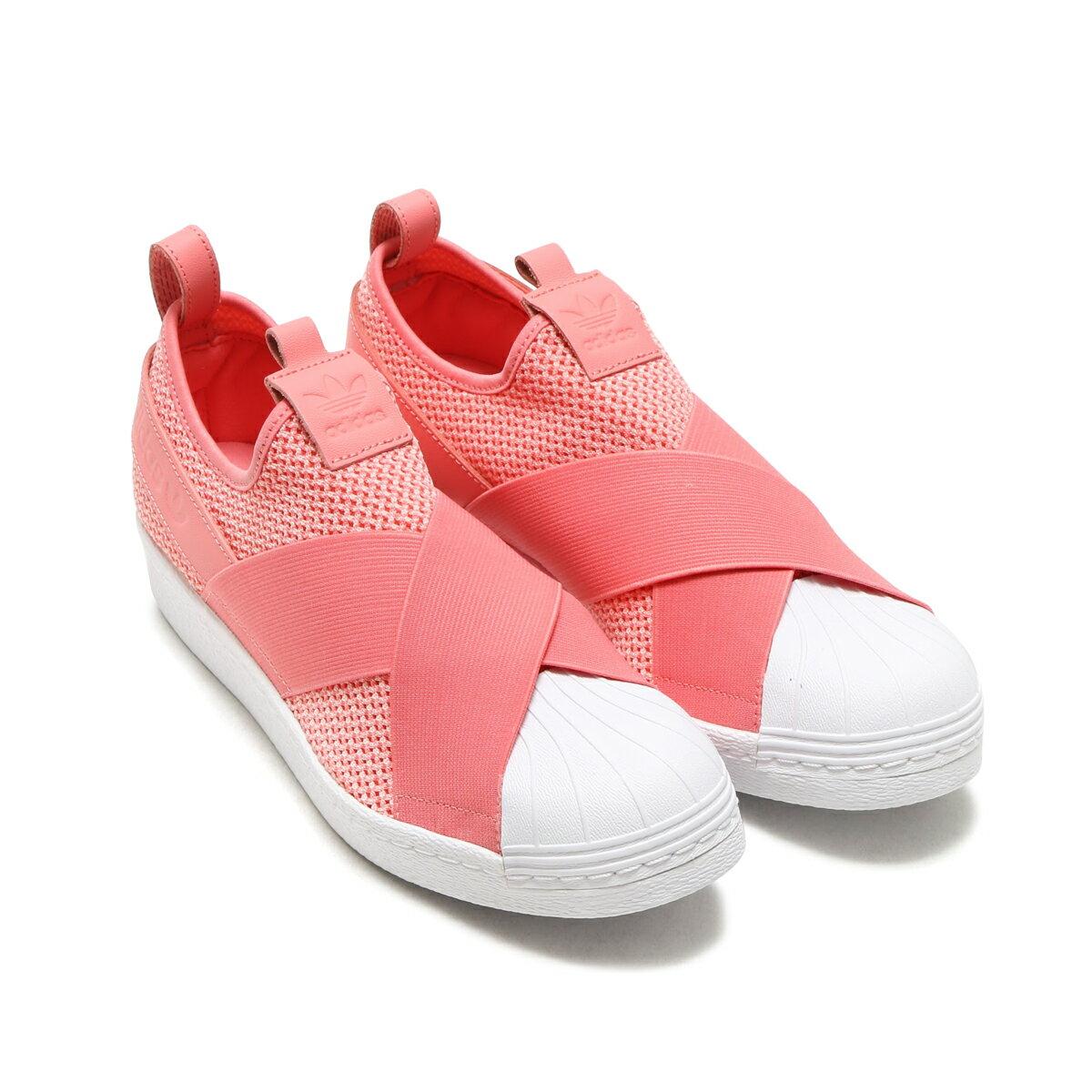 adidas Originals SUPERSTAR SlipOn W(アディダス オリジナルス スーパースター スリップオン)Tactile Rose/Tactile Rose/Running White【レディース スリッポン】17FW-I