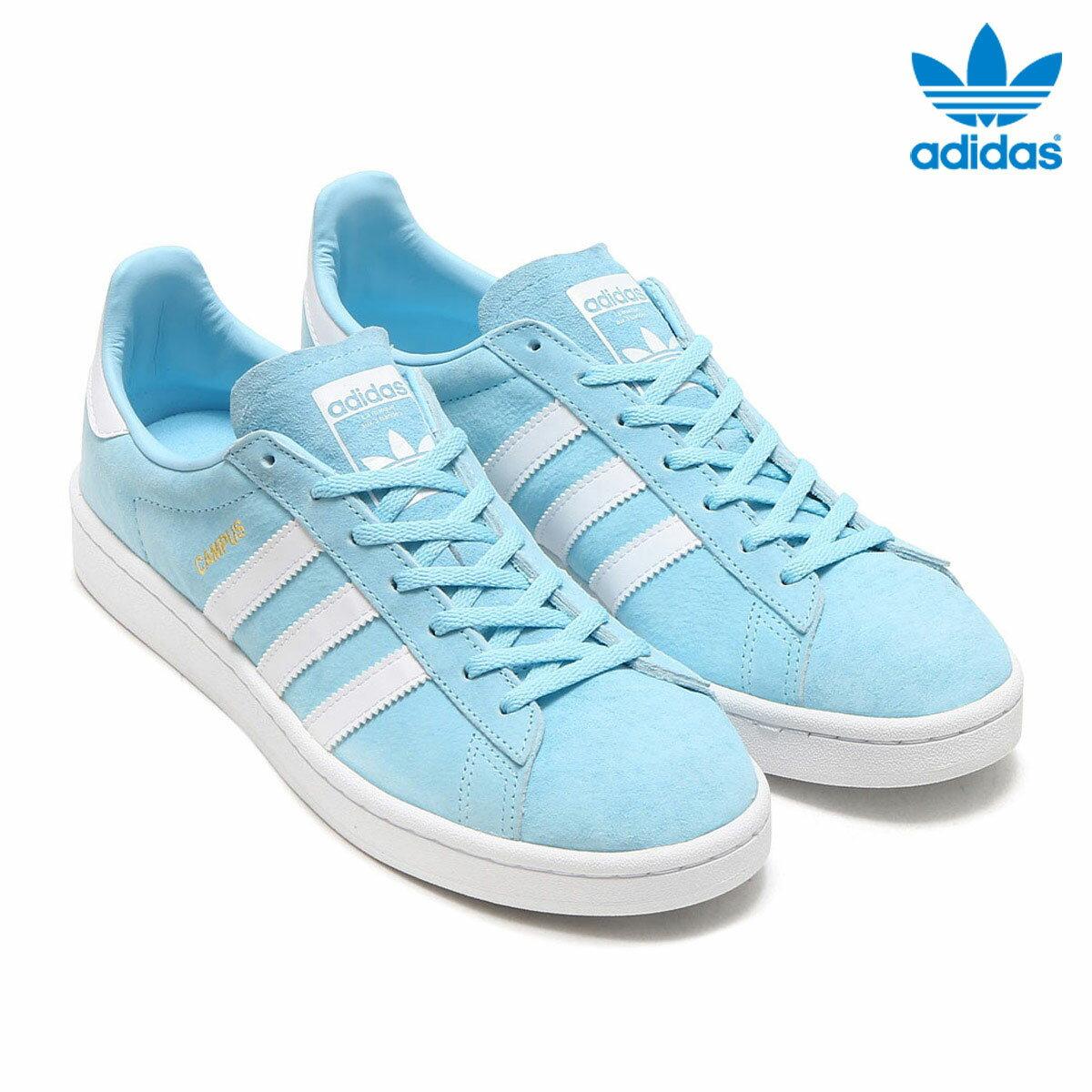 adidas Originals CAMPUS W(アディダス オリジナルス キャンパス W)(Ice Blue/Running White/Crystal White) 【メンズ レディース スニーカー】17FW-I