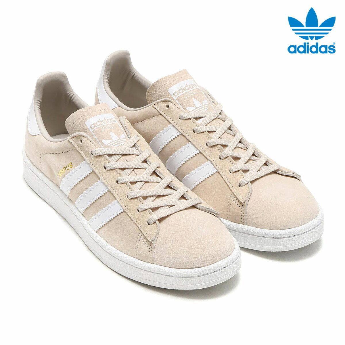 adidas Originals CAMPUS W(アディダス オリジナルス キャンパス W)(Clear Brown/Running White/Crystal White) 【メンズ レディース スニーカー】17FW-I