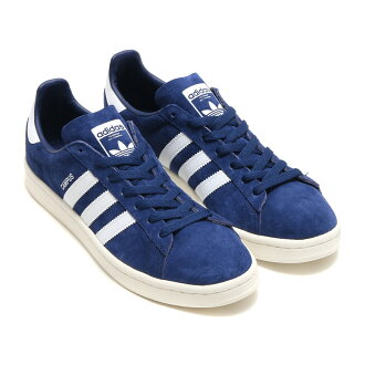 adidas Originals CAMPUS(阿迪达斯原始物扫描路径)(Dark Blue/Running White/Chalk White)17FW-I