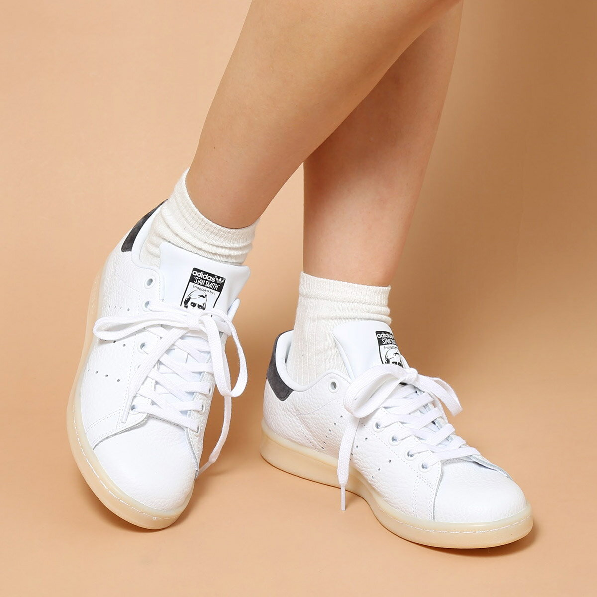 adidas Originals STAN SMITH(アディダス オリジナルス スタンスミス)(Running White/Running White/Utility Black)【メンズ レディース スニーカー】17SS-I