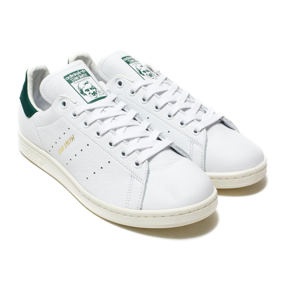 adidas Originals STAN SMITH(アディダス オリジナルス スタンスミス)Running White/Running White/Collegiate Green【メンズ レディース スニーカー】18SS-I