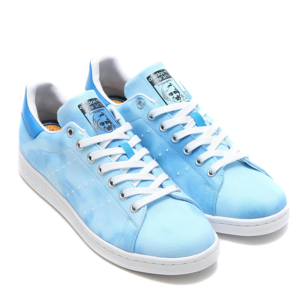 adidas Originals PW HU HOLI STAN SMITH (アディダス オリジナルス ファレル ウィリアムス HU HOLI スタンスミス) Blue / Running White / Running White【メンズ スニーカー】18SS-S