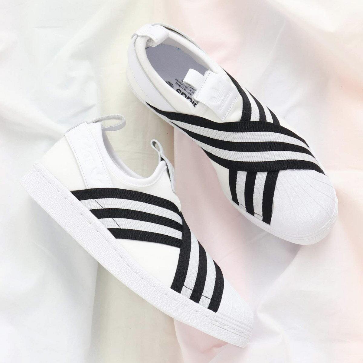 adidas Originals SUPERSTAR SLIPON W(アディダス オリジナルス スーパースタースリッポン W) Running White/Running White/Core Black18SS-I