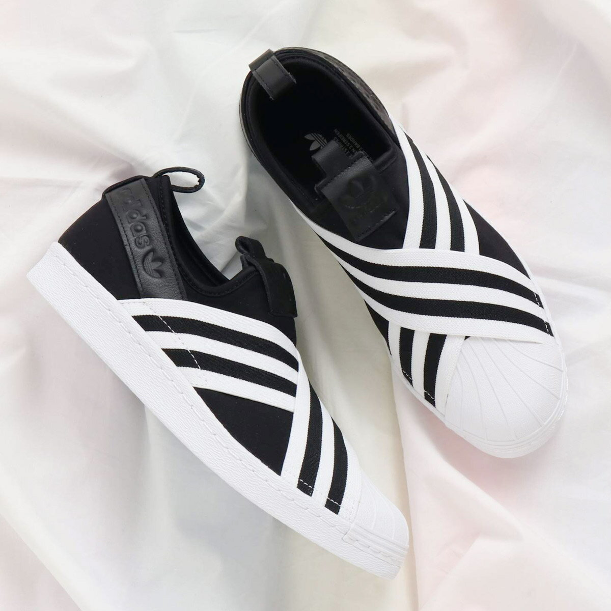 adidas Originals SUPERSTAR SLIPON W(アディダス オリジナルス スーパースタースリッポン W) Core Black/Running White/Running White18SS-I