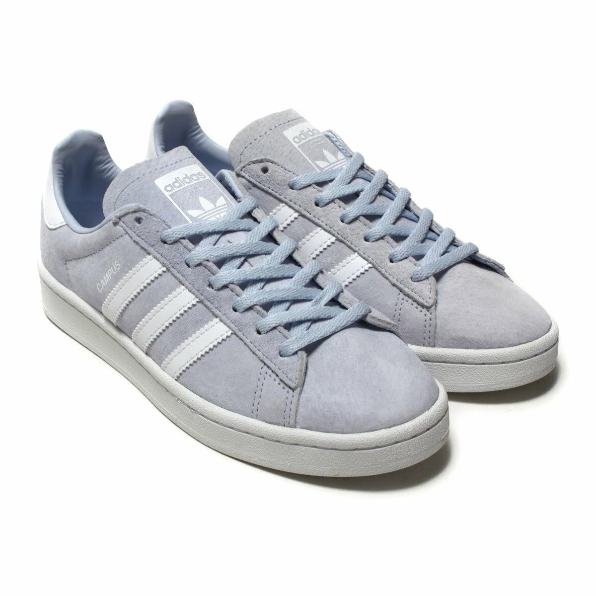 adidas Originals CAMPUS W(アディダス オリジナルス キャンパス W)Aero Blue/Running White/Crystal White18SS-I