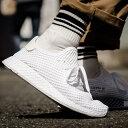 50c53b373a5d65 adidas Originals DEERUPT RUNNER (アディダスオリジナルスディーラプトランナー) (Running White Running  White Running White) 18SS-I
