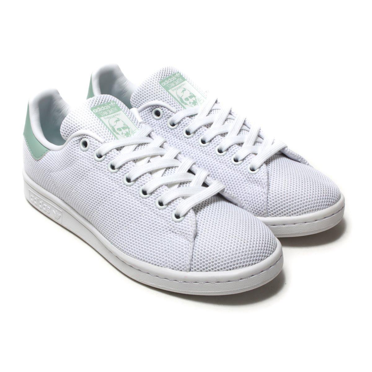 adidas Originals STAN SMITH W(アディダス オリジナルス スタンスミス W)Running White/Running White/Ash Green18SS-I