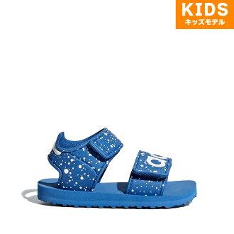 adidas Originals BEACH SANDAL I(愛迪達原始物Beach sandal)Trase Royal/Running White/Trase Royal 18SS-I