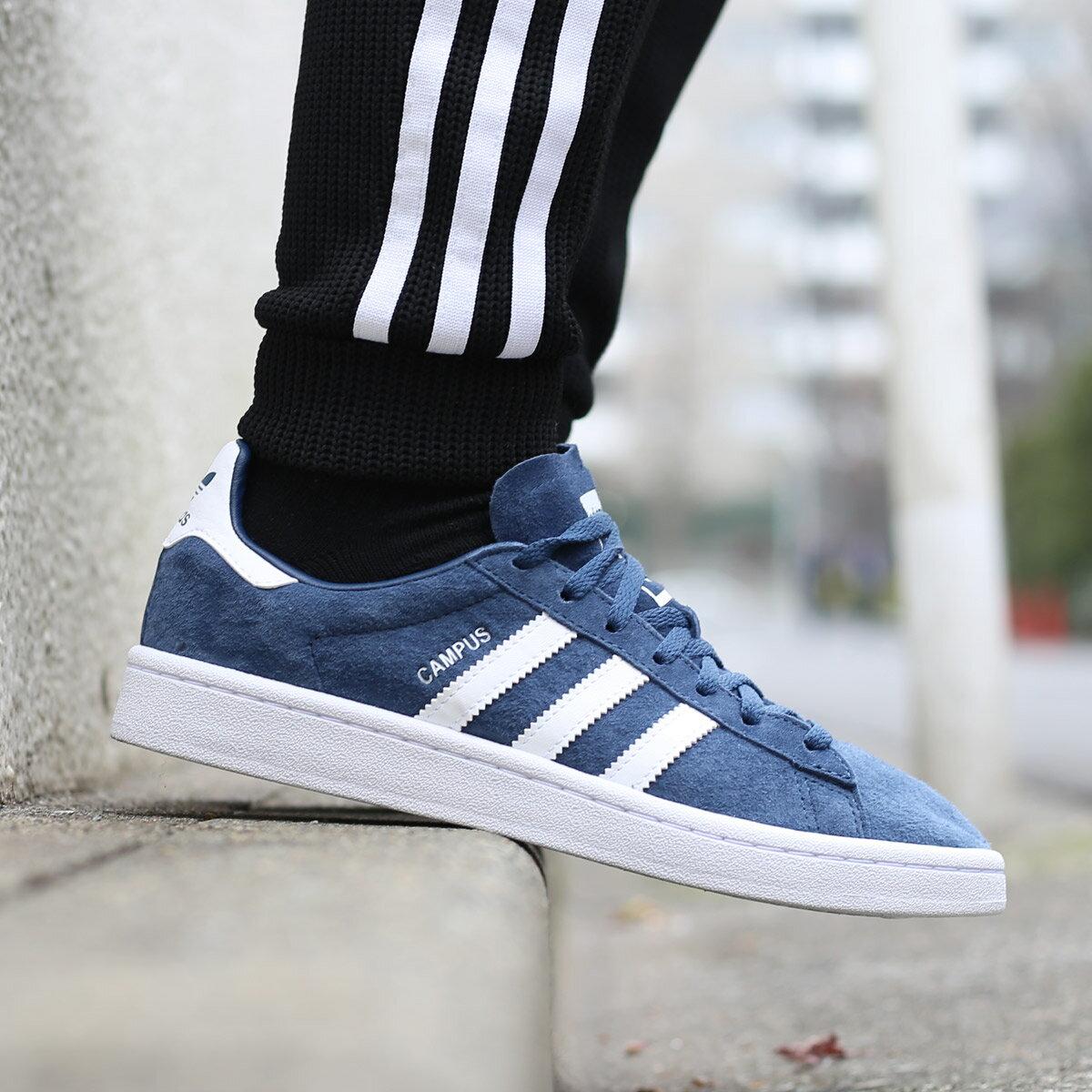 adidas Originals CAMPUS W(アディダス オリジナルス キャンパス W)Mineral Blue/Running White/Running White【メンズ レディース スニーカー】18SS-I