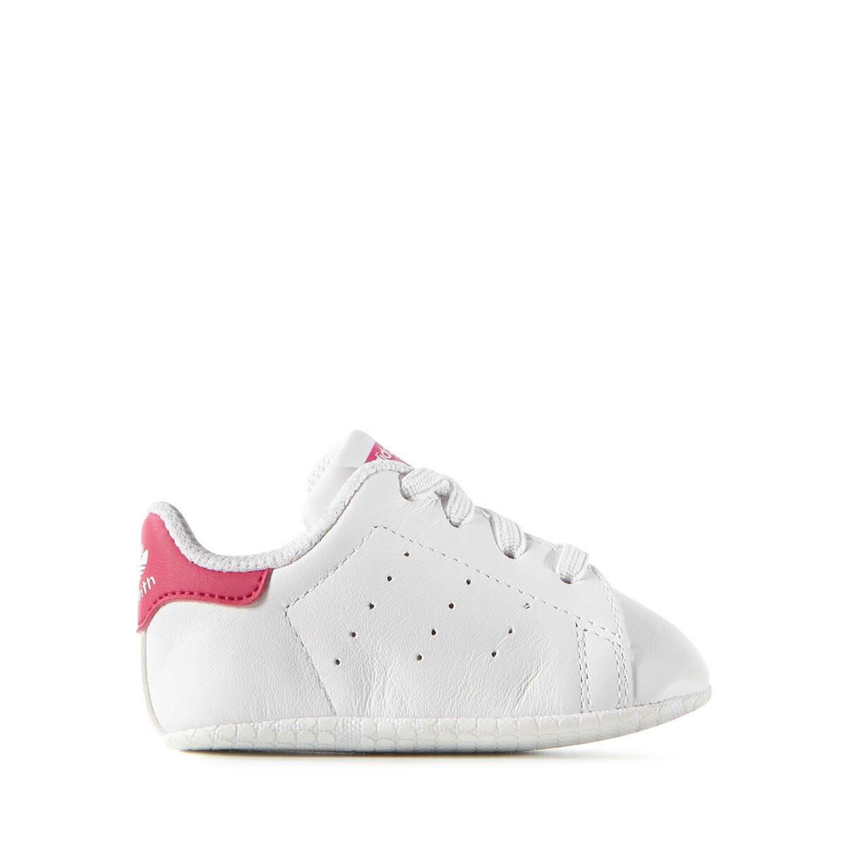 adidas Originals STAN SMITH CRIB(アディダス オリジナルス スタンスミス クリブ)Running White/Running White/Bold Pink【キッズ スニーカー】18SS-I