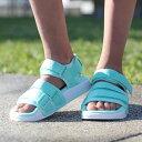 927672d64e8fd1 adidas Originals Adilette Sandal 2.0W (アディダスオリジナルスアディレッタサンダル 2.0W) Clear  Mint Running White Running White 18FW-I
