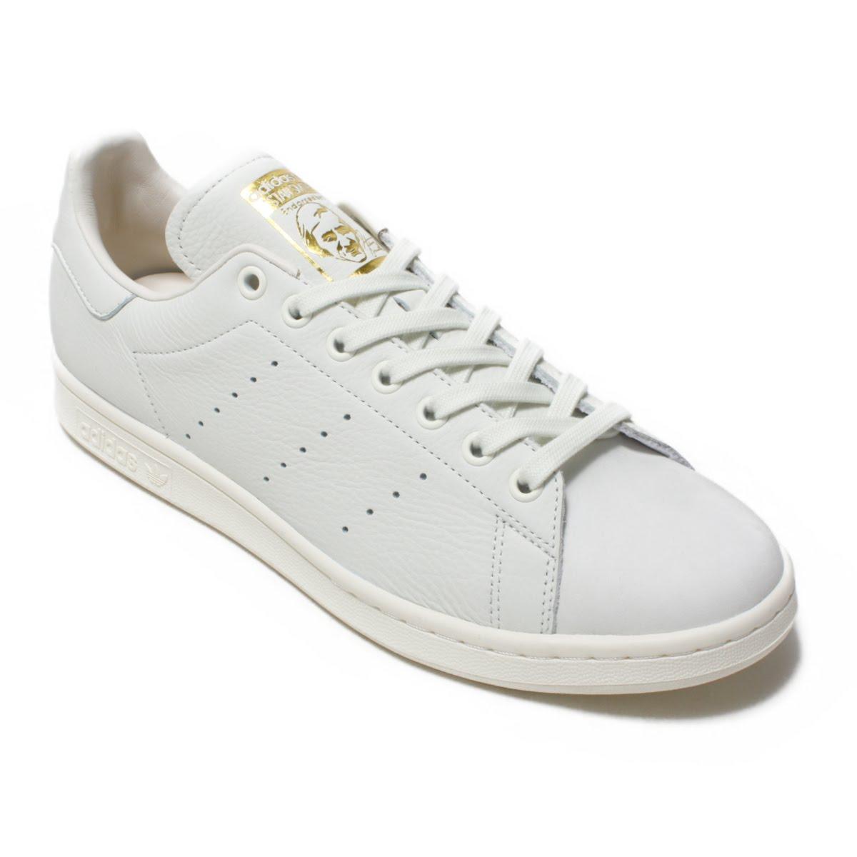 adidas Stan Smith Premium(アディダス スタンスミス プレミアム)ホワイトティント S18/ホワイトティント S18/ゴールドメット【メンズ レディース スニーカー】18FW-I