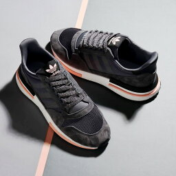adidas Originals ZX 500 RM(愛迪達原始物ZX 500 RM)Grey Five/Running White/Clear Orange 18FW-I