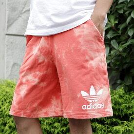 adidas Originals TIE DYE SHORTS(アディダス オリジナルス タイダイ ショーツ)(トレーススカーレット S18)18SS-I