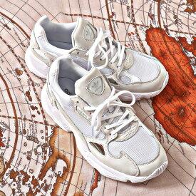 adidas Originals ADIDASFALCON W(アディダスオリジナルス ファルコン W)RUNNING WHITE/RUNNING WHITE/CRYSTAL WHITE【レディース スニーカー】19FW-I atpss20