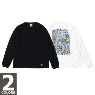 Atmos Japanese wave pattern Long sleeve Tee (sleeve of the long of wave pattern Atmos Japanese NTT) two-color development 16 FW-I