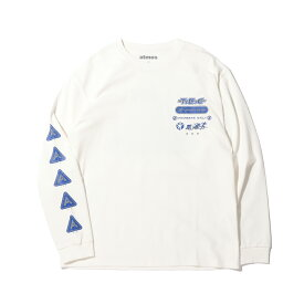 atmos T.E.C LS TEE(アトモス テック ロングスリーブ ティー)WHITE【メンズ 長袖Tシャツ】20FA-S
