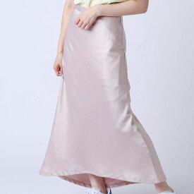 atmos pink 無地サテン スカート(アトモスピンク ムジサテン スカート)PINK【レディース スカート】19SP-I