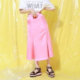 atmos pink サテン マーメイドスカート TX(アトモスピンク サテン マーメイドスカート TX)PINK【レディース スカート】19SP-I