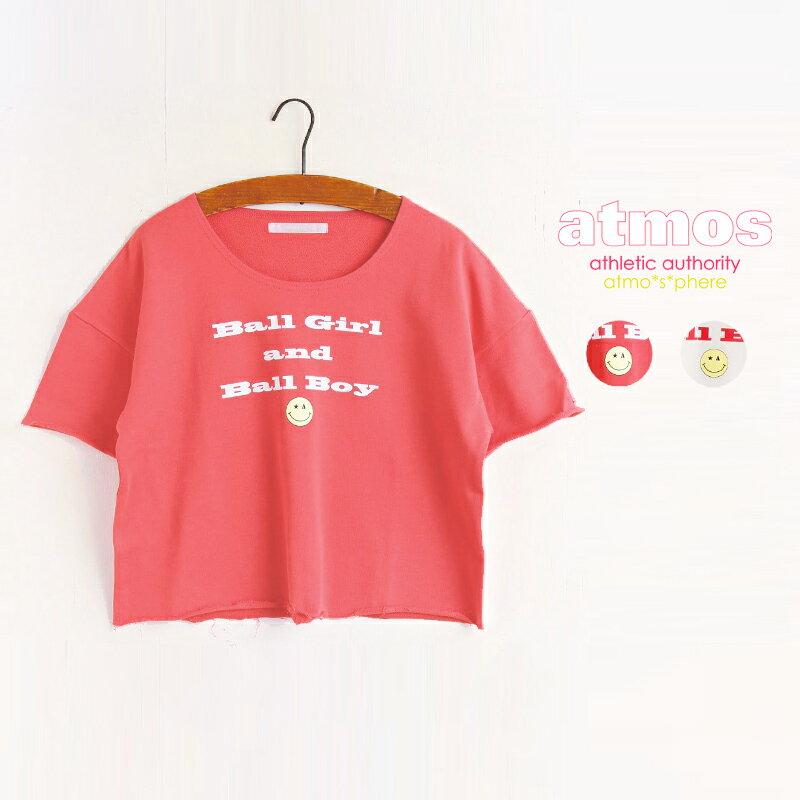 atmos BALLGIRL&BOY SHORT SWEAT【アトモス ボールガール アンド ボーイ ショート スウェット】2色展開15SS-I