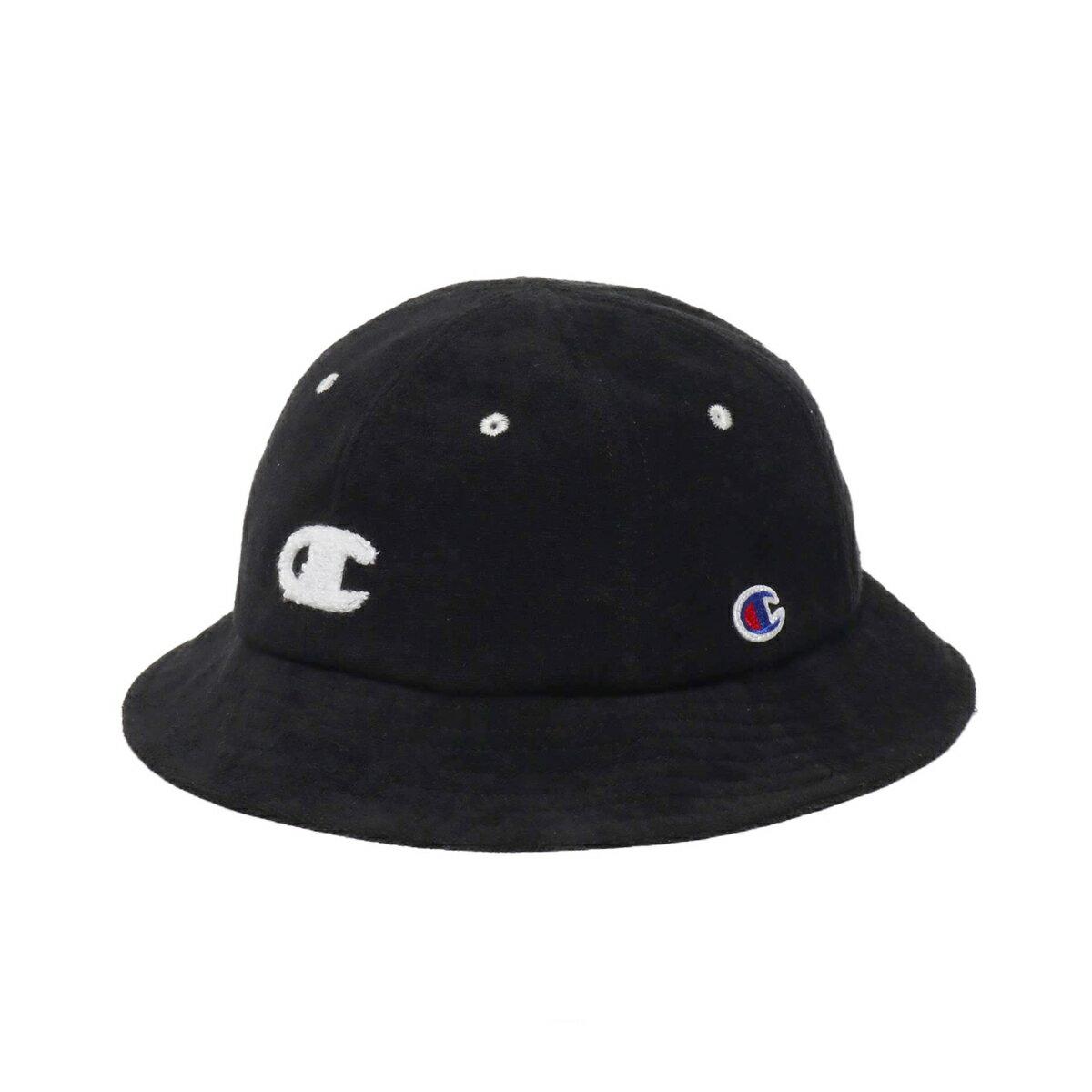CHAMPION x ATMOS LAB PILE HAT (チャンピオン パイルハット)BLACK【メンズ レディース ハット】19SS-S