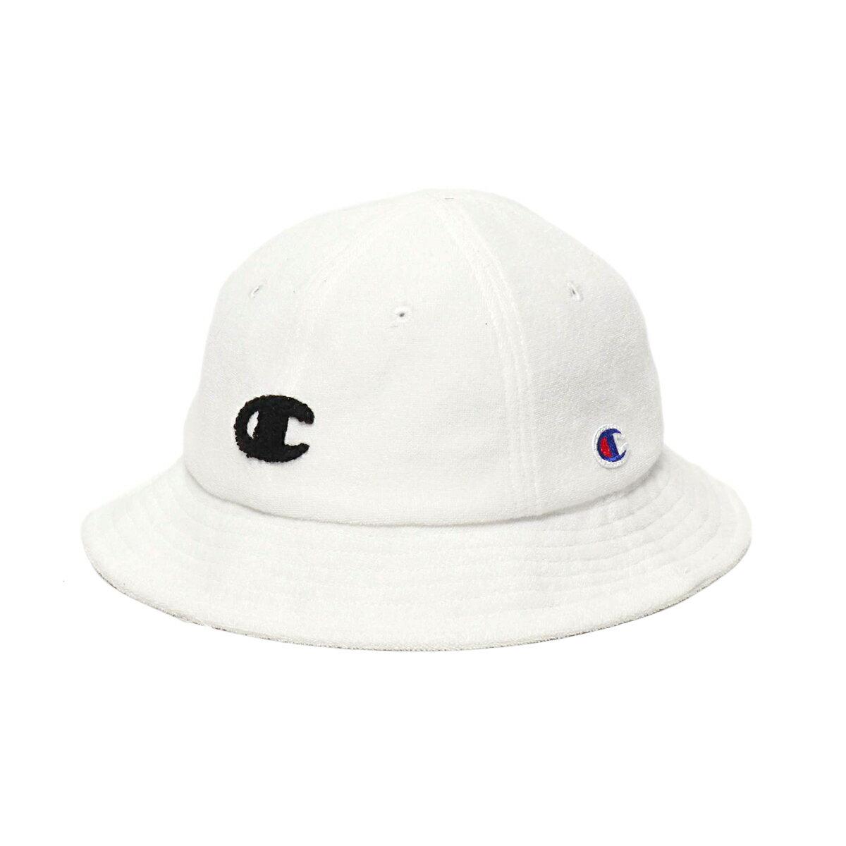 CHAMPION x ATMOS LAB PILE HAT (チャンピオン パイルハット)WHITE【メンズ レディース ハット】19SS-S