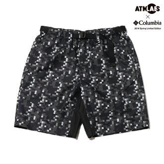 哥伦比亚 × 司参加 Atmos 实验室普林尼峰短 (哥伦比亚 x Atmos 实验室 prinny 峰值短裤) 黑色模式 16SS-S