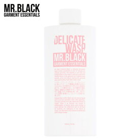 MR_BLACK DELICATE WASH 500ml【ミスターブラック デリケート ウォッシュ】【洗濯】【液体洗剤】15SS-I